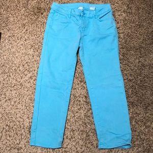 Joe Fresh Girl's crop pants/jeans